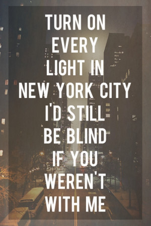 Light In New York Its World You Are Perfect