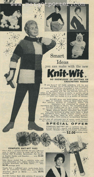 Knit Wit Flower Loom From The