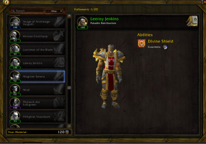 Looks like We get Leeroy as a companion now, Such epicness!