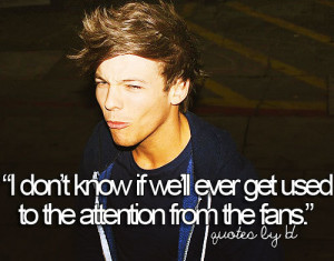louis tomlinson, one direction, quotes by 1d