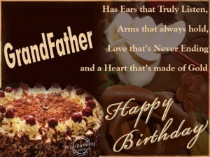 Happy Birthday Grandfather Quotes Happy birthday grandfather