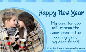 New Year Quotes, Wishes, Messages for Friends | Happy New Year 2014 ...