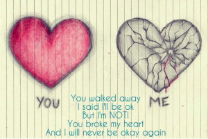 you broke my heart quotes tumblr picture