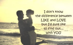 Like You Messages for Him: Quotes to Ask a Guy Out
