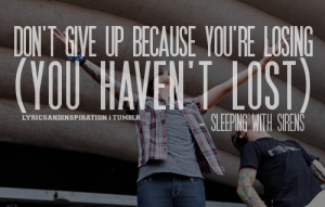 ... sleeping with sirens # sleeping with sirens quote # sleeping with