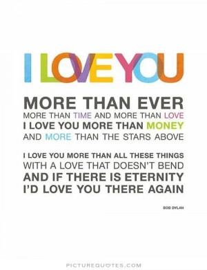 love you more than ever Picture Quote #1
