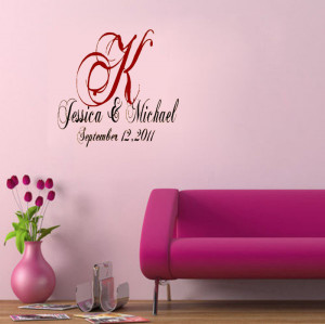 Custom Wedding Dance Floor vinyl wall quote for home(China (Mainland))