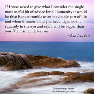 Ann Landers