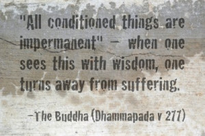 Anicca, the universal law of impermanence