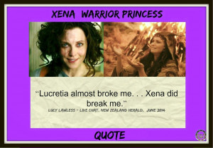 Xena Trivia & Quotes