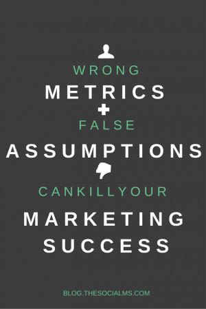 success and discouragement incorrect assumptions about success