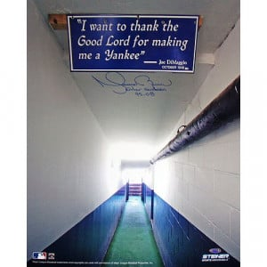 Mariano Rivera Signed Photo of Joe DiMaggio Quote In The Yankee ...