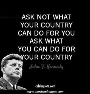 quotes about inspiring others john f kennedy inspirational sayings