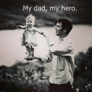 My dad, my hero