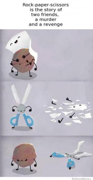 Rock, Paper, Scissors…