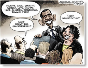 ... Sonia Sotomayor's Supreme Court Judge Nomination Political Cartoons