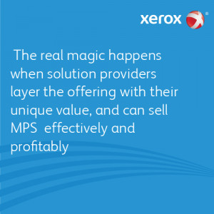 The real magic happens when solution providers layer the offering with ...