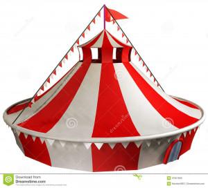 Circus Tent Stock Image