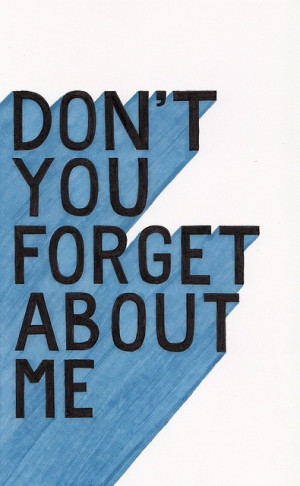 Learn English with Songs – Don't you forget about me