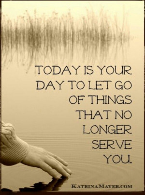 The day to let go