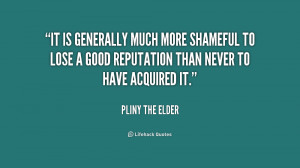 Elder Quotes Quote Pliny The Elder it