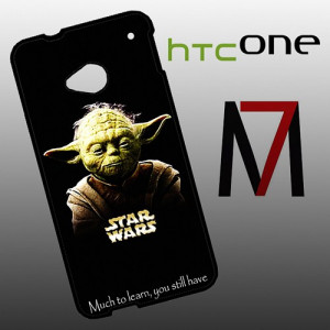 BG1369 Yoda Star Wars Quotes HTC One M7 Case | BagindaStore ...