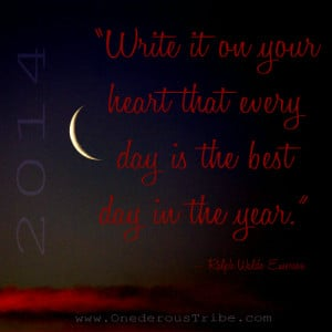 New Moon New Year 2014 Inspirational Quotes and Sayings