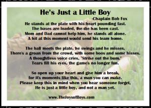 Monday Motivation: He's Just a Little Boy