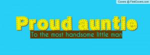 proud auntie Profile Facebook Covers