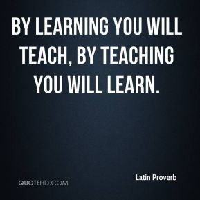 latin quotes about education
