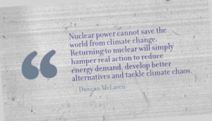 Nuclear Power Cannot Save the World from Climate Change