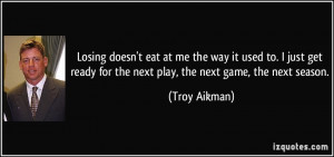 Troy Aikman Quote