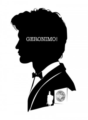 11th Doctor - Quote Silhouette Art Print