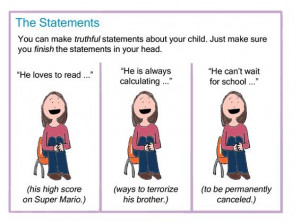 Parent-Teacher Conference Survival Guide: How to Sugarcoat the Truth ...