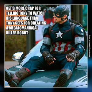 Poor Captain America