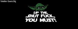 Funny Yoda STFU Fb Cover