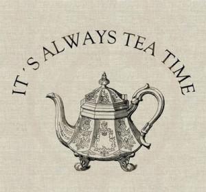 We Love Tea, Especially Afternoon Tea: Fact