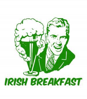 green funny beer breakfast irish