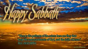 HAPPY SABBATH AROUND THE WORLD!