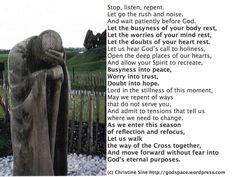 Ash wednesday   Ash Wednesday Prayer for 2013 More