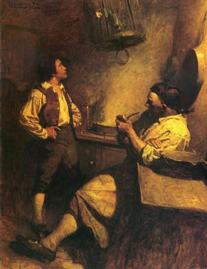 jim hawkins treasure island essay The serialization of robert louis stevenson's treasure island  narrative, where  the principal narrator jim hawkins goes off by himself on the island  essay 1  revisions of the doctor in jim's narrative, chapters 1-15.