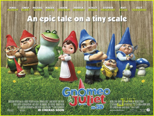 About This Photo Set: Juliet (Emily Blunt) falls right into Gnomeo's ...