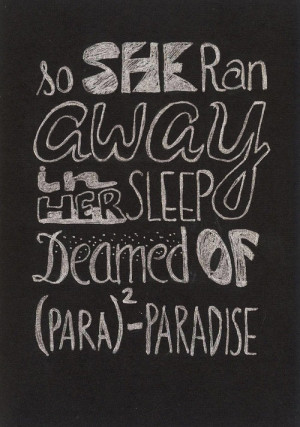 Lyrics / Best Coldplay Song Quotes | coldplay paradise Sh | We ...