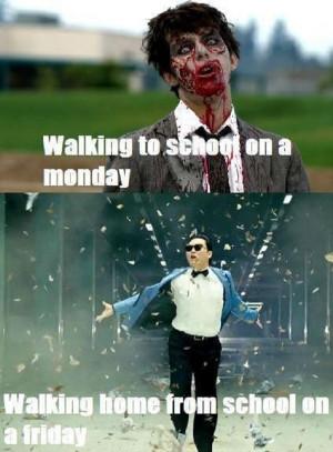 School on Friday