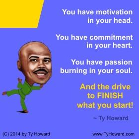 ... Howard on Finishing, Quotes on Finishing, Quotes for Finishing Strong