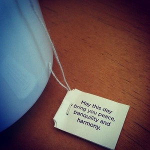 Yogi tea quote of the day. Have a beautiful Tuesday :) #TeaAddict # ...