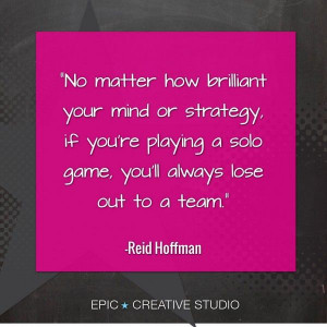 Reid Hoffman quote on EPIC