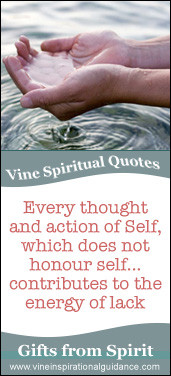 Vine Phone Psychic Line Spiritual Quote - Every thought and action of ...