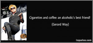 coffee quotes gerard way