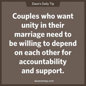Money is a great way for married couples to work together and become ...